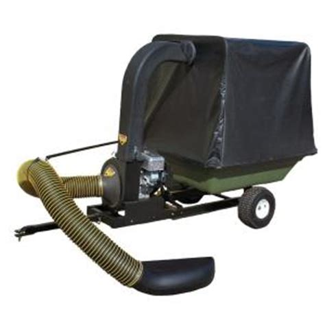 Leaf Vacuum Home Depot by Swisher 8 75 Gross Torque Briggs Stratton Engine Lawn Vac And Cart Discontinued Lv87551 The