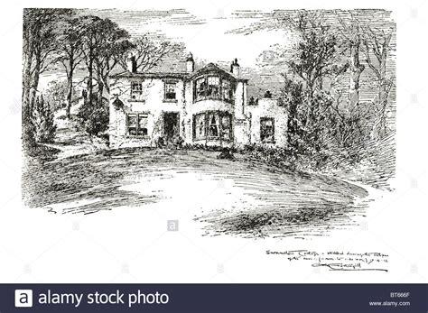 Robert Louis Stevenson Cottage by Swanston Cottage Robert Louis Stevenson Robert Louis