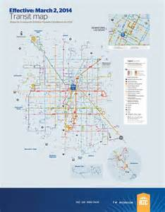 Las Vegas Bus Map by Southern Nevada Transit Rtc Maplets