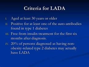 Diabetes Lada Lada Mody Diabetes
