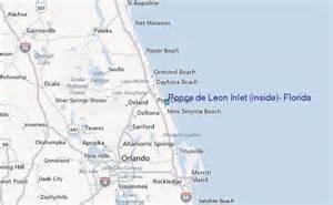 map of ponce inlet florida ponce de inlet inside florida tide station