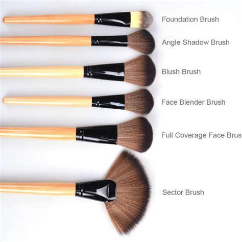 Make Up Brush Bobby Brown 24pc Set new 24pc brown makeup brushes set kit with soft bag