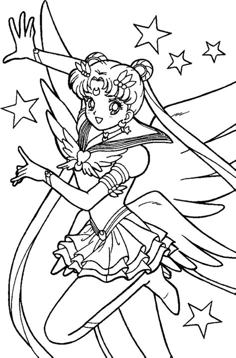 sailor moon coloring pages coloringpagesabc