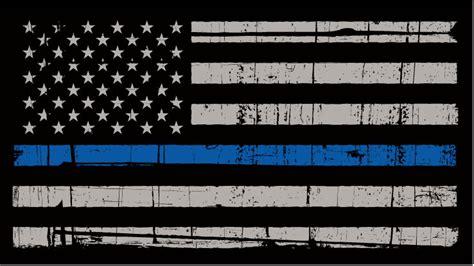 Wallpaper Sticker Fresh Blue Line thin blue line flag blue line flag gadstone