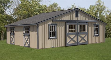 Prefabricated Cupola Low Profile Horse Barns Custom Horse Barn Layouts