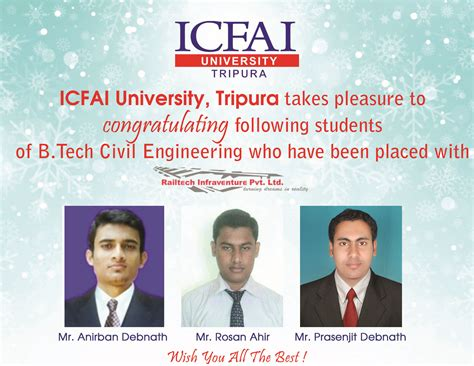 Suitable Mba Branch For Mechanical Engineer by Placements The Icfai Tripura Time