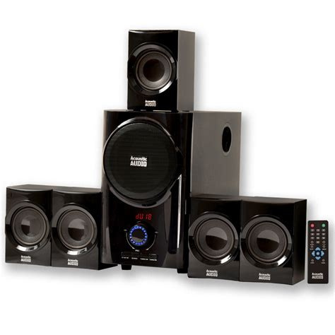 acoustic audio aa home theater  speaker system