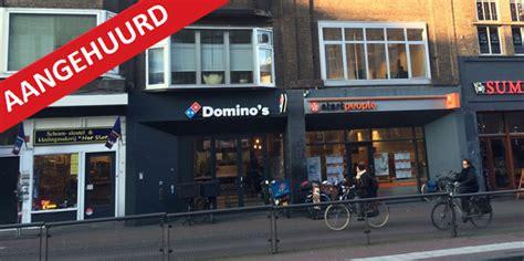 Domino Pizza Utrecht | potterstraat 12 utrecht pdj vastgoed
