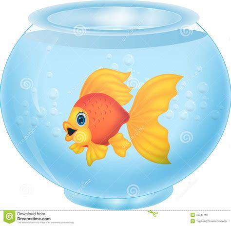aquarium l fish mirror frame moving picture gold fish cartoon in aquarium stock vector illustration