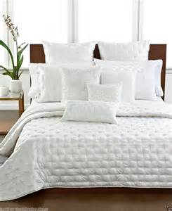 White Coverlet Hotel Collection Finest Silk King Coverlet White 570