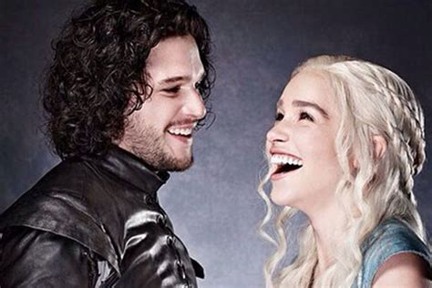Heavy Flirting And The Season by Of Thrones Season 7 Will Dany And Jon Genuinely Get