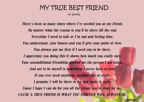 poems for your best friend beautiful friendship poems for