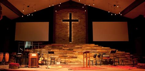 contact churchstagedesignideascom vintage warmth church stage design ideas