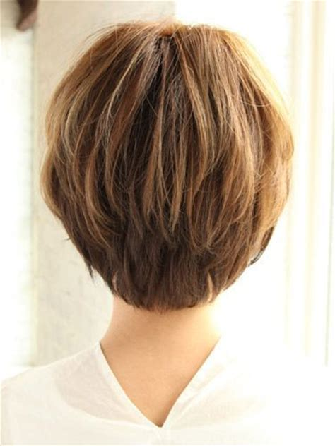 short hairstylescuts for fine hair with back and front view short haircuts for women over 50 back view bing images