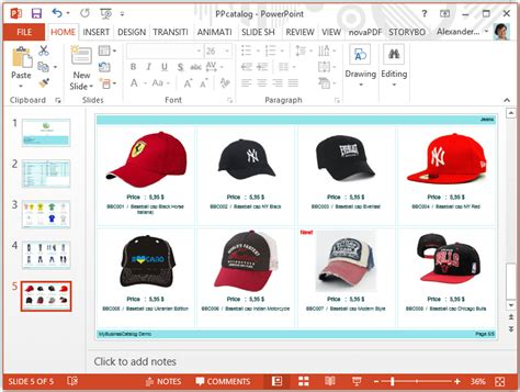 catalog template powerpoint bountr info
