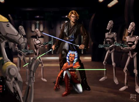 wars fan fic wars anakin and ahsoka fanfiction