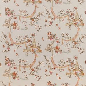 Cowtan amp tout exclusive la pagode chinoiserie fabric dining room chairs fabric amp wallpaper