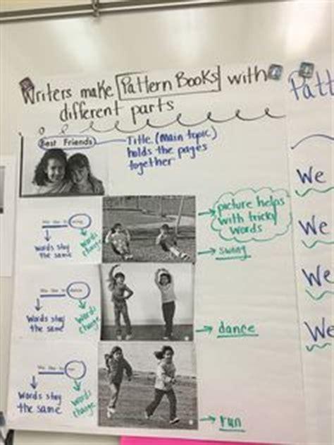 my pattern book kindergarten my chart for writer s workshop kindergarten pattern books