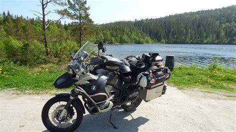 Nordkap Motorrad by Motorradtour Th 252 Ringen Norwegen Nordkap Schweden 10 000 Km