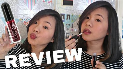 The Shop Aqua Tint liptint review aqua tint my eat cherry the