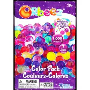 orbeez color pack orbeez color pack refill kit assorted colors