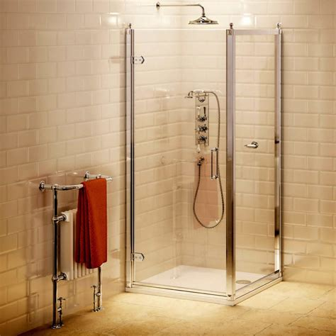 Hinged Shower Doors Uk Burlington Hinged Shower Door Uk Bathrooms
