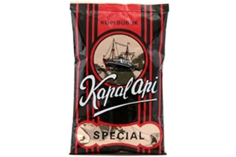 Kopi Bubuk Made Indonesia kapal api kopi bubuk special ground coffee 6 5oz 6 units 8991002105423
