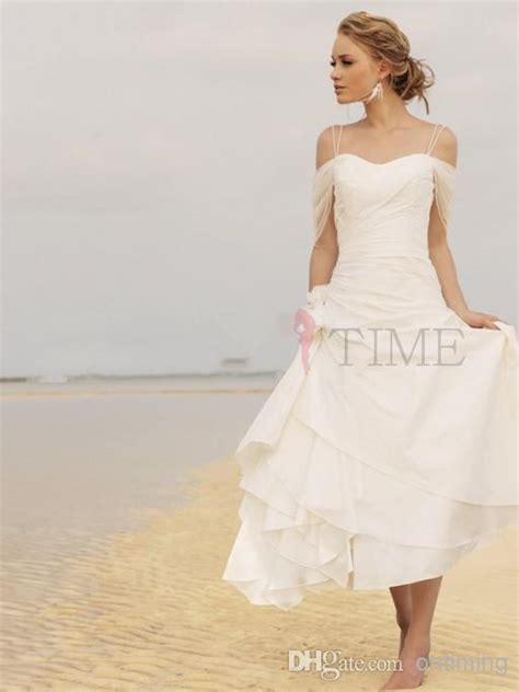 casual a line one shoulder knee length white chiffon party dress cokm14005 discount short casual beach wedding dresses 2014 fall