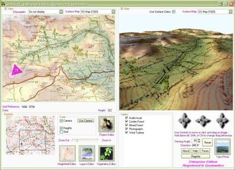 Landscape Layout Mapinfo | filegets genesisiv screenshot genesis iv is a landscape