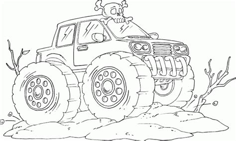 max d monster truck coloring pages coloring pages