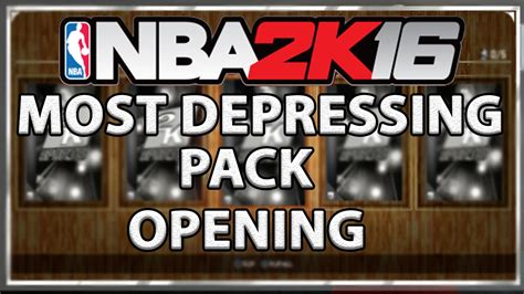 Pack Opening Mba Free by Nba 2k16 Most Depressing 300k Pack Opening