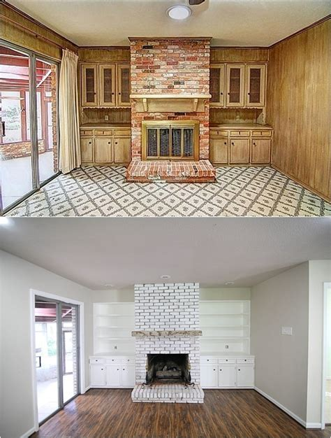 Before and After pictures  Insane final pictures of a flip