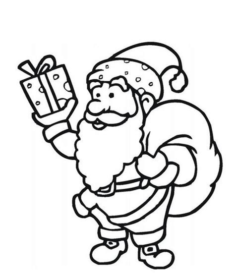 coloring pictures of father christmas santa claus free coloring pages allfreechristmascrafts com