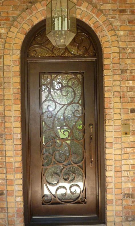 swirly design single iron door transom aaleadedglasscom