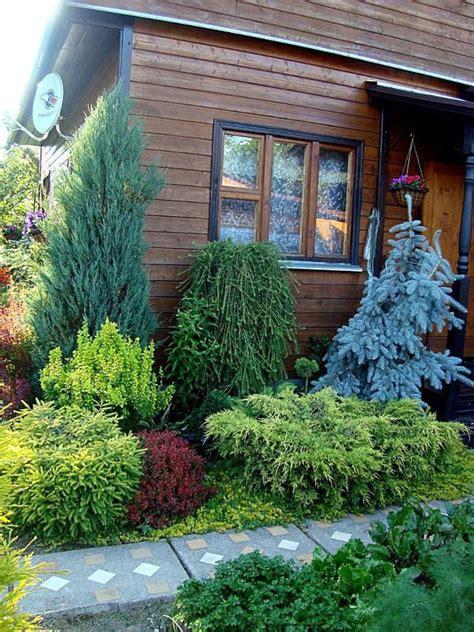 Conifer Garden Ideas изображение Garden Ogr 243 D Conifers Gardens Conifers Ogrody Gardens
