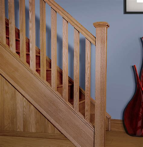 Square Stair Spindles Plain Square Spindles 1100mm X 41mm X 41mm Gq