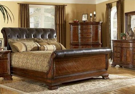 king size sleigh beds full size sleigh bed alea full size sleigh bed by ashley