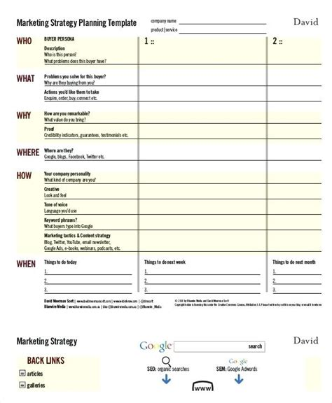 promotional strategy template promotional strategy template btcromania info