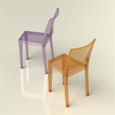 3d La Marie Chair Kartell High Quality 3d Models Kartell Dining Chair