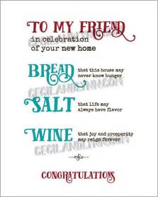 Make Your Own Floor Plans Free printable new home blessing bread salt wine poem