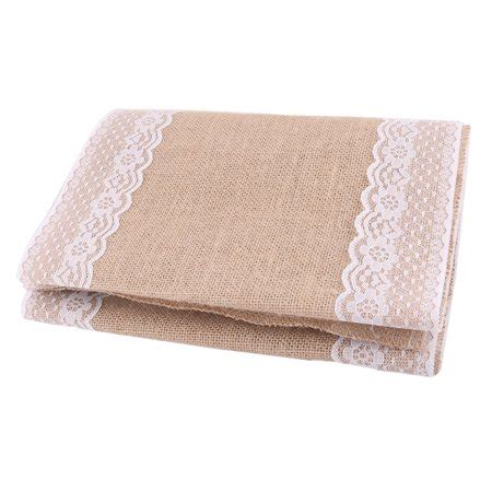 unique bargains wedding party home decoration hessian