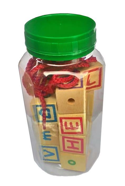 Mainan Mobil Kayu Abjad ronche abjad mini 15pcs mainan kayu