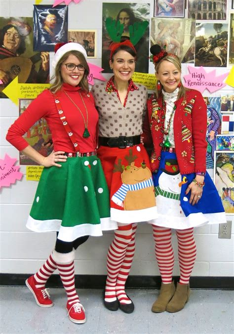 christmas themed clothing ideas cassie stephens what the art teacher wore 153