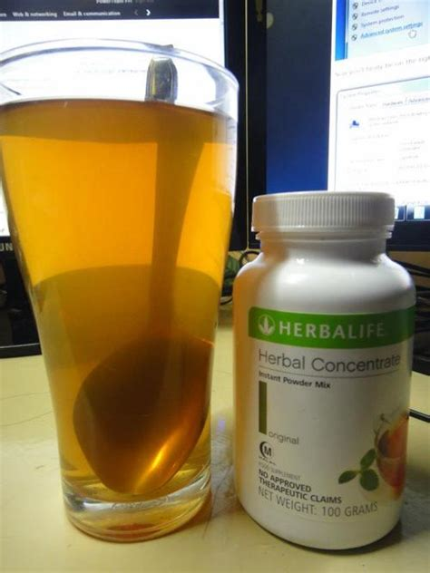 Can Detox Water Beused As Meal Replacements by Risk Taker Herbalife Herbal Tea Concentrate