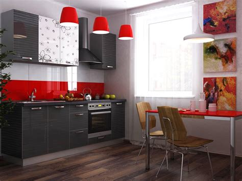 Habibs Kitchen by Brown Gorgeous Kitchen Cabinets With Modern Appliances