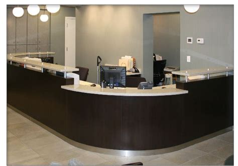 Dental Reception Desk Dental Office Reception Designs Design Makes This Reception Desk A Striking Complement To The