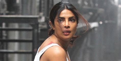 film quantico priyanka chopra priyanka chopra films an intense scene for quantico