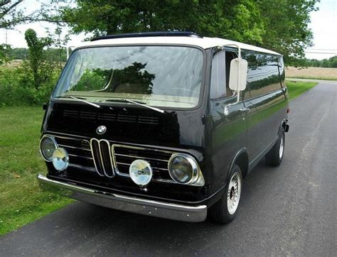 bmw volkswagen van 1967 bmw 069i panel van made a few years after they