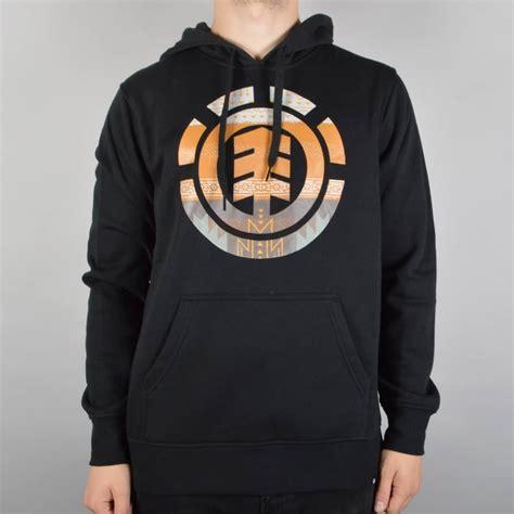 Sweater Element Skate For 2 Zalfa Clothing element skateboards blanket pullover hoodie black