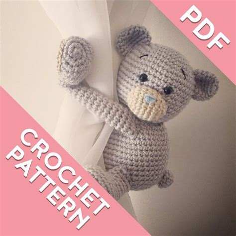bear curtain tie backs 90 best images about crochet baby items with love by